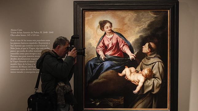 «Visión de San Antonio de Padua», de Alonso Cano. ROLDÁN SERRANO
