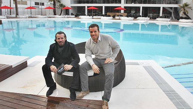 Narciso y Rubén Márquez, padre e hijo, promotores del proyecto
