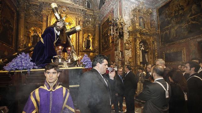 Jesús Caído bajará en su vía crucis hasta Santa Marina