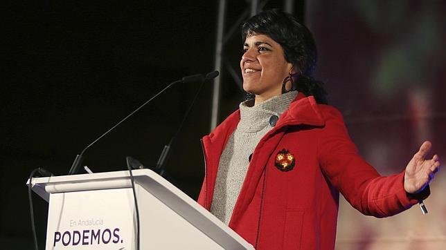 La candidata de Podemos a la Junta, Teresa Rodríguez