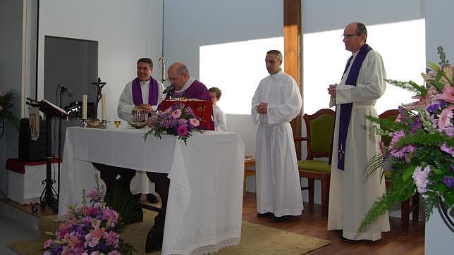 Bendición del templo de San Juan Pablo II