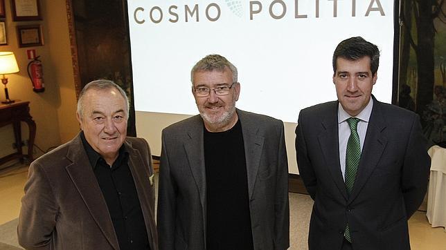 Julio Moreno, Paco Ortiz y Antonio Cerero, promotores de Cosmopolitia