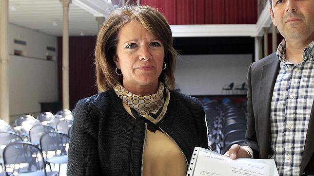 La delegada de Cultura en Córdoba, Manuela Gómez