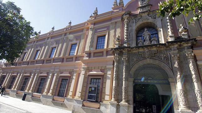 Fachada del Museo de Bellas Artes de Sevilla, en la Plaza del Museo