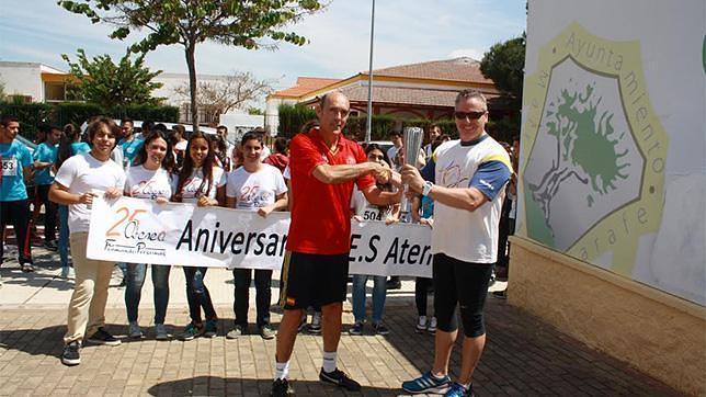 Una multitudinaria marcha de relevos para celebrar los 25 - Spa en mairena del aljarafe ...