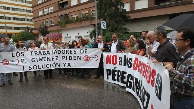 Los sindicatos piden destituir a los concursales de Pérez Giménez