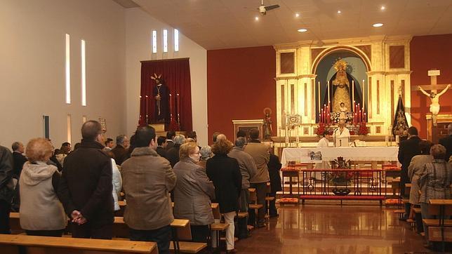 Misa en una parroquia de Córdoba