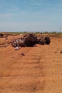 Cuatro muertos y dos heridos en el accidente del avión militar en Sevilla