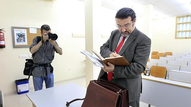 El abogado gaditano Manuel Martos
