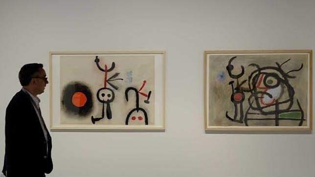La obra de Joan Miró estará en el Pompidou durante todo el verano/ABC