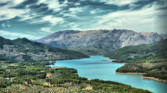 En comarcas como las de Segura hay olivares que registran pendientes superiores al 20%