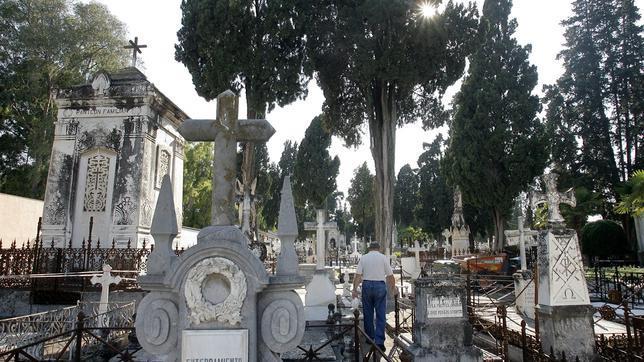 Lápidas y panteones del cementerio de La Salud