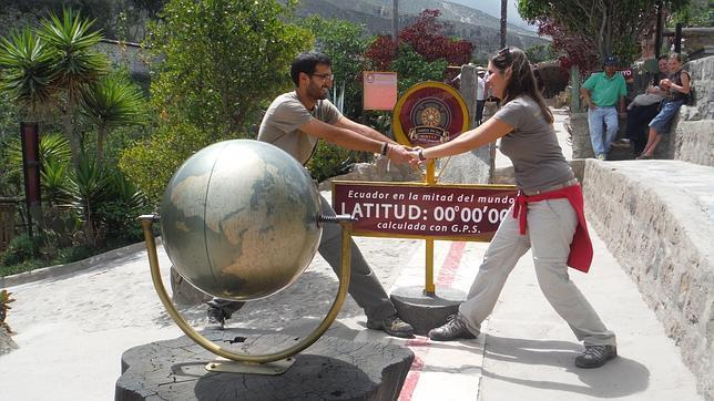 José Pablo y María José, a su paso por Ecuador