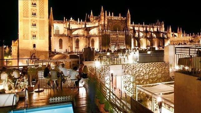 Vista desde la terraza del Hotel Eme Catedral