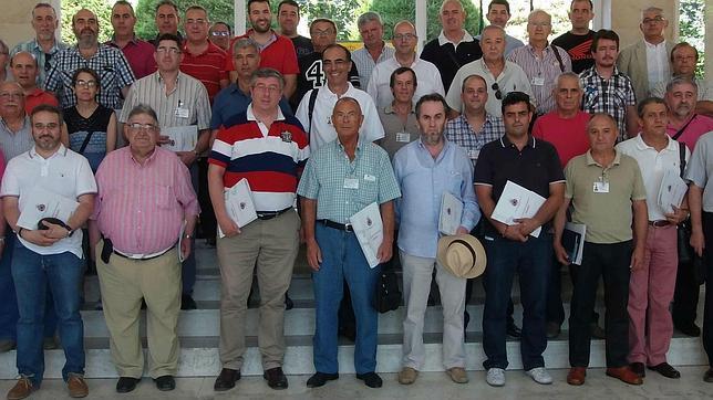 Foto de familia de los miembros de REMER en Jaén