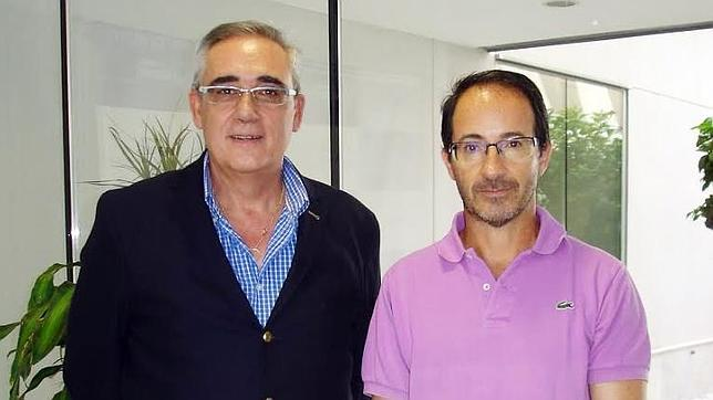 Los catedráticos de la Pablo de Olavide, Francisco Berral y Francisco Martín