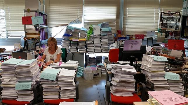 Ya no hay espacio en los juzgados mercantiles de Sevilla para amontonar las demandas de cláusulas-suelo