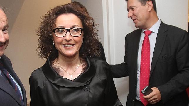 María Isabel Baena en un acto reciente