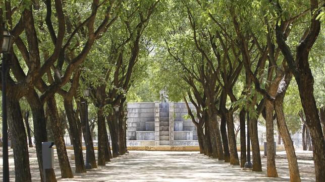 El parque Amate es uno de los afectados por el macrocontrato de mantenimiento de zonas verdes