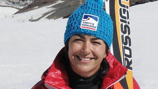 La esquiadora granadina, María José Rienda