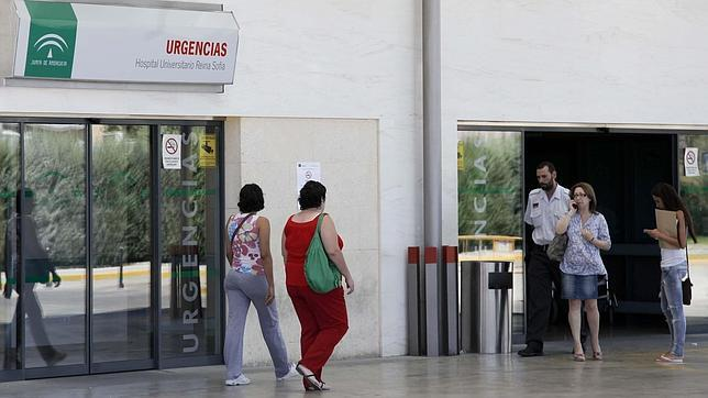 Zona de urgencias del Hospital Reina Sofía