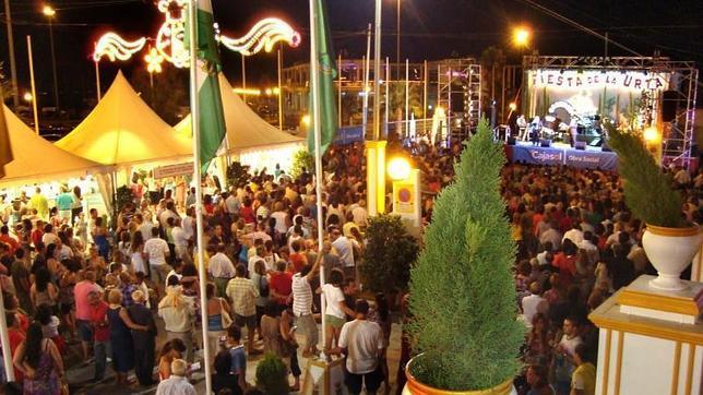 Imagen de la Feria de la Urta en la localidad gaditana de Rota