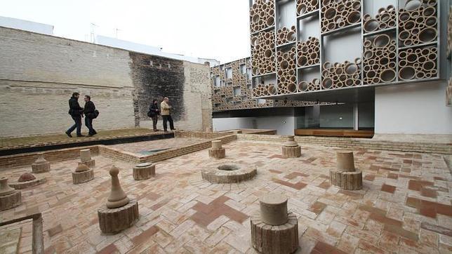 Una de las zonas exteriores del Centro Cerámica Sevilla