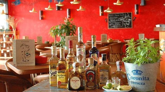 Oferta de tequilas de La Guadalumpana en el Tablero