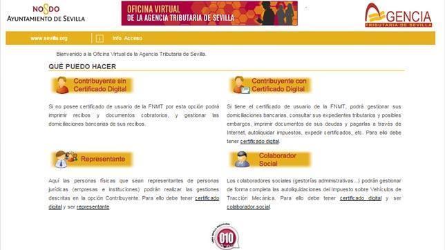 Facua denuncia al ayuntamiento y la empresa que gestiona for Oficina virtual de la agencia tributaria