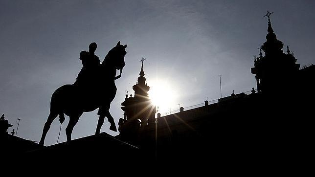 Estatua del Gran Capitán, en la plaza de Las Tendillas de Córdoba