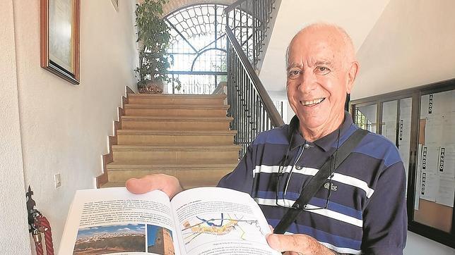 El autor de la guía sobre Andalucía, Fernando Padilla Galindo