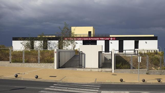 El Centro de Formación «Felix Luna» de UGT en Huelva fue construido con fodos de cursos para parados