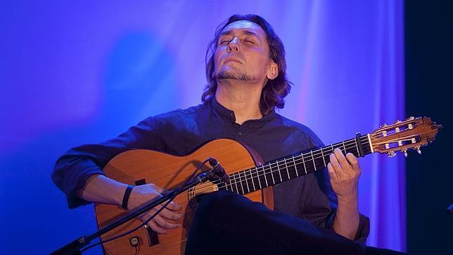 El guitarrista Vicente Amigo