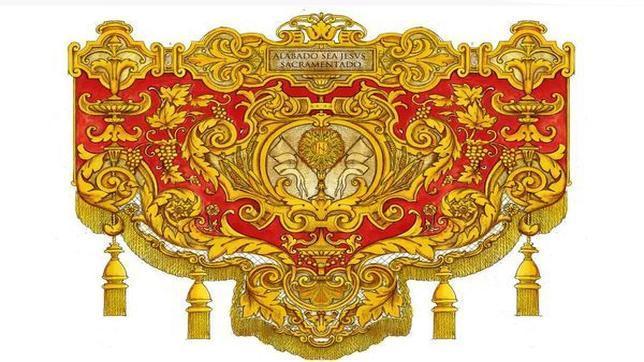 Diseño de los paños de las bocinas que estrenará la Estrella