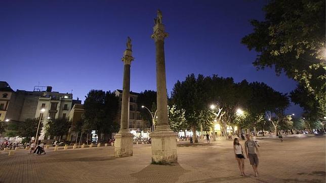 Alameda de Hércules de Sevilla, una ciudad dentro de la ciudad