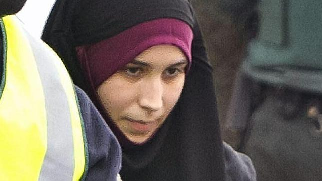 La joven de 22 años cuando fue detenida por la Guardia Civil