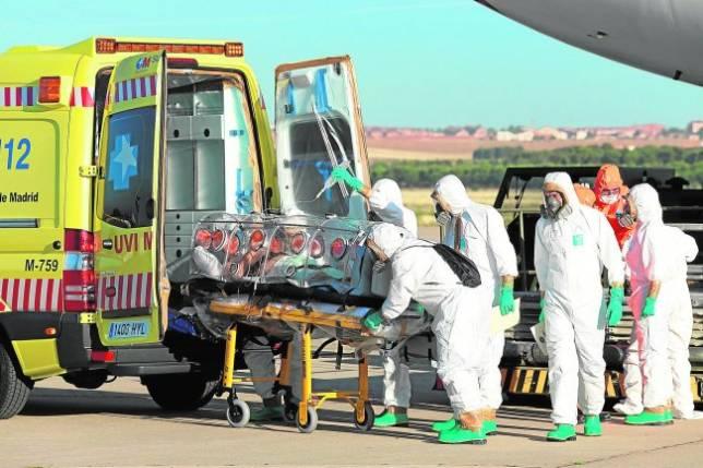 El ébola, en EspañaUn sistema  de salud modélico
