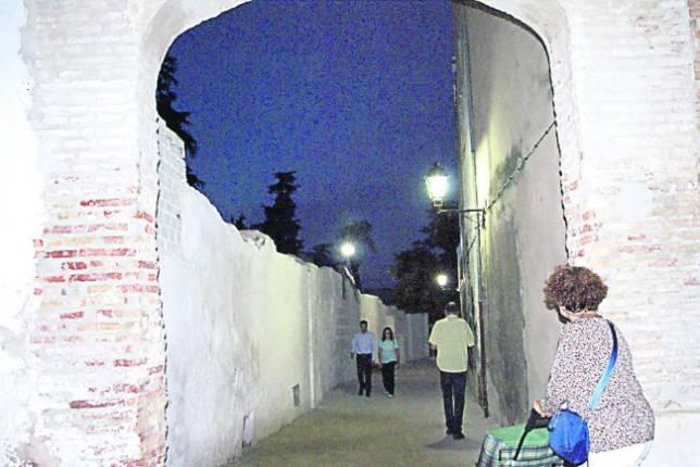 Calle recuperada en Priego, que comunica Conde Superunda con el centro
