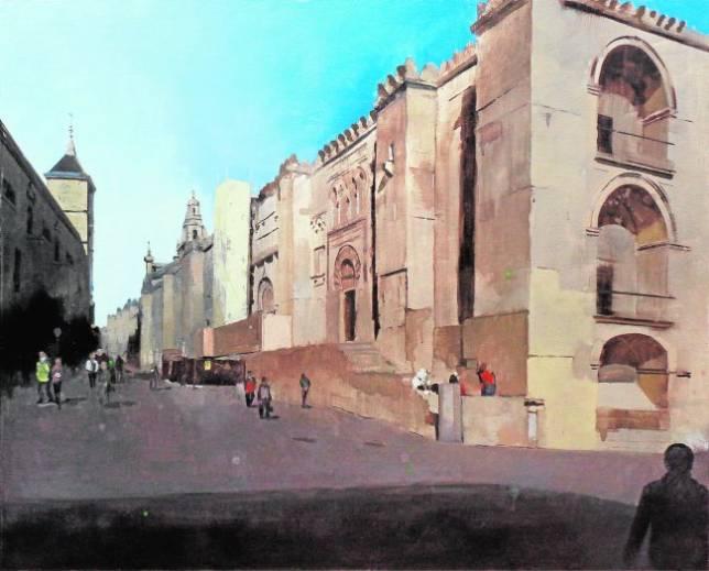 Francisco escalera premio de pintura r pida de la catedral for Escalera pintor