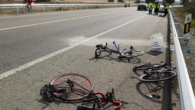 Cada dos días un ciclista se ve implicado en un accidente en la ciudad de Sevilla