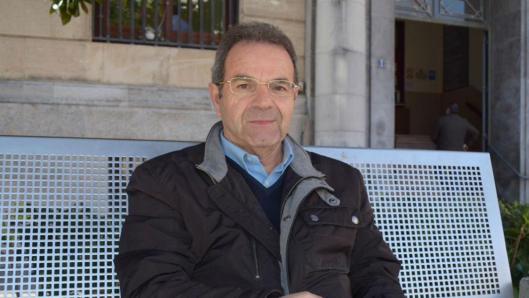 Manuel Ruiz Amezcua, en una plaza de Jaén