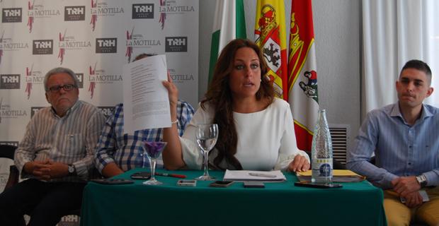 La edil popular Cristina Alonso / L.MONTES
