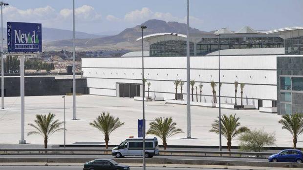 Exteriores del centro comercial Nevada en Armilla