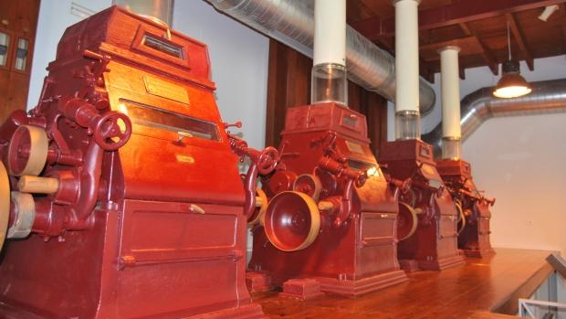 Maquinaria de la antigua Harinera del Guadaíra