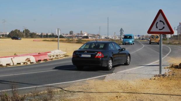 Los desvíos provisionales para las obras llevan desde 2011 funcionando/A.M.