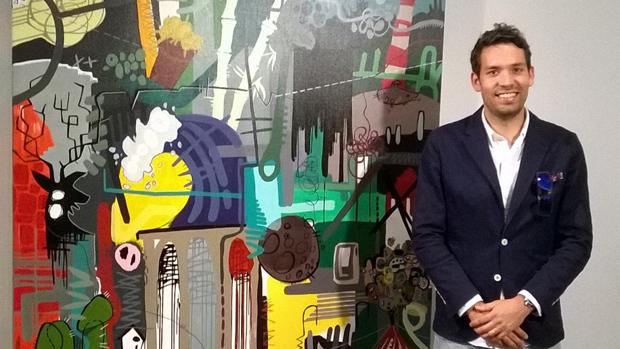 El artista de Dos Hermanas Rafael López / ABC