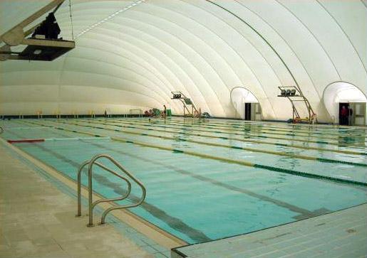 Vista de la piscina que desde ahora queda cerrada