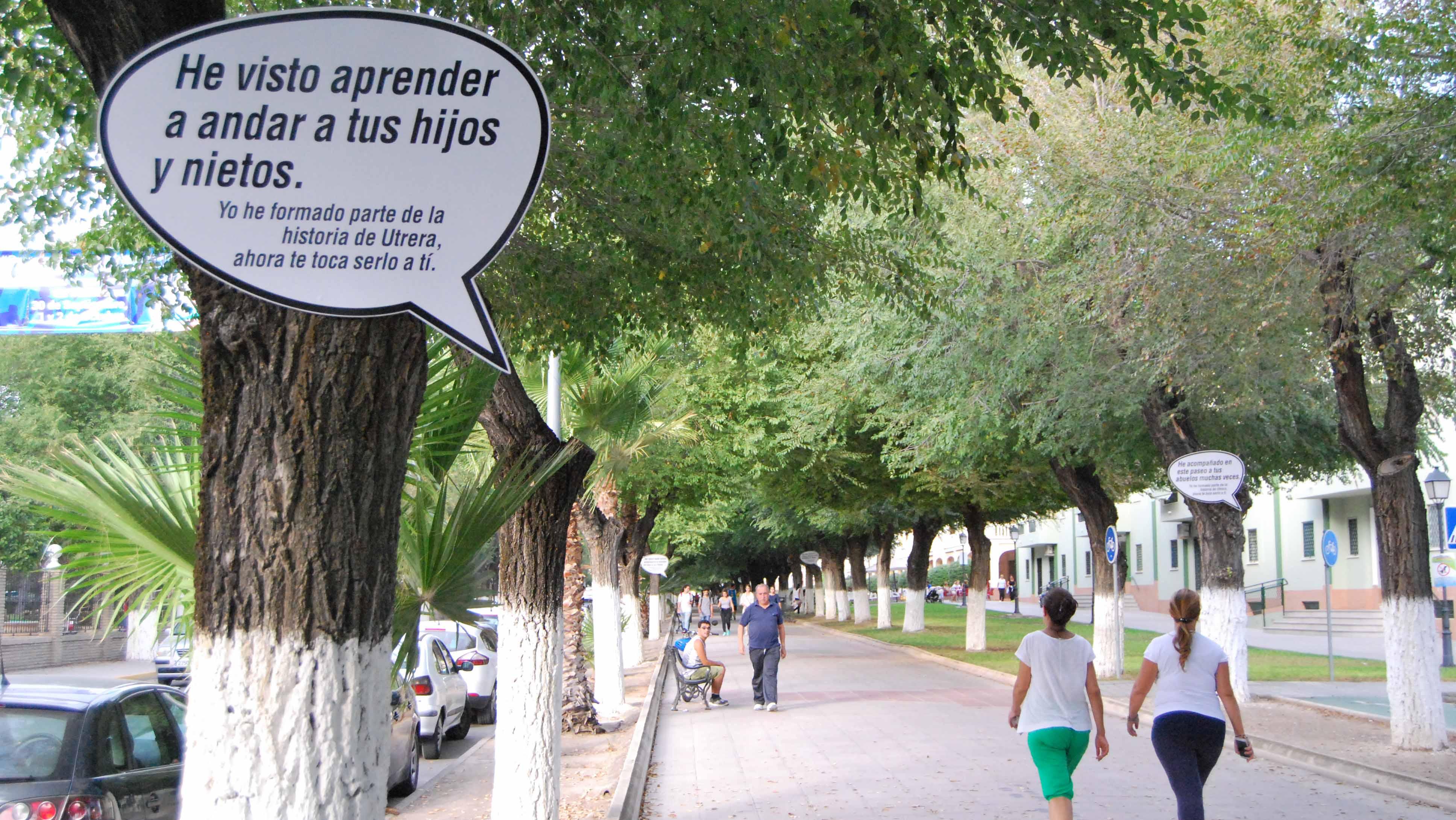 El paseo de Consolación es un lugar emblemático en Utrera