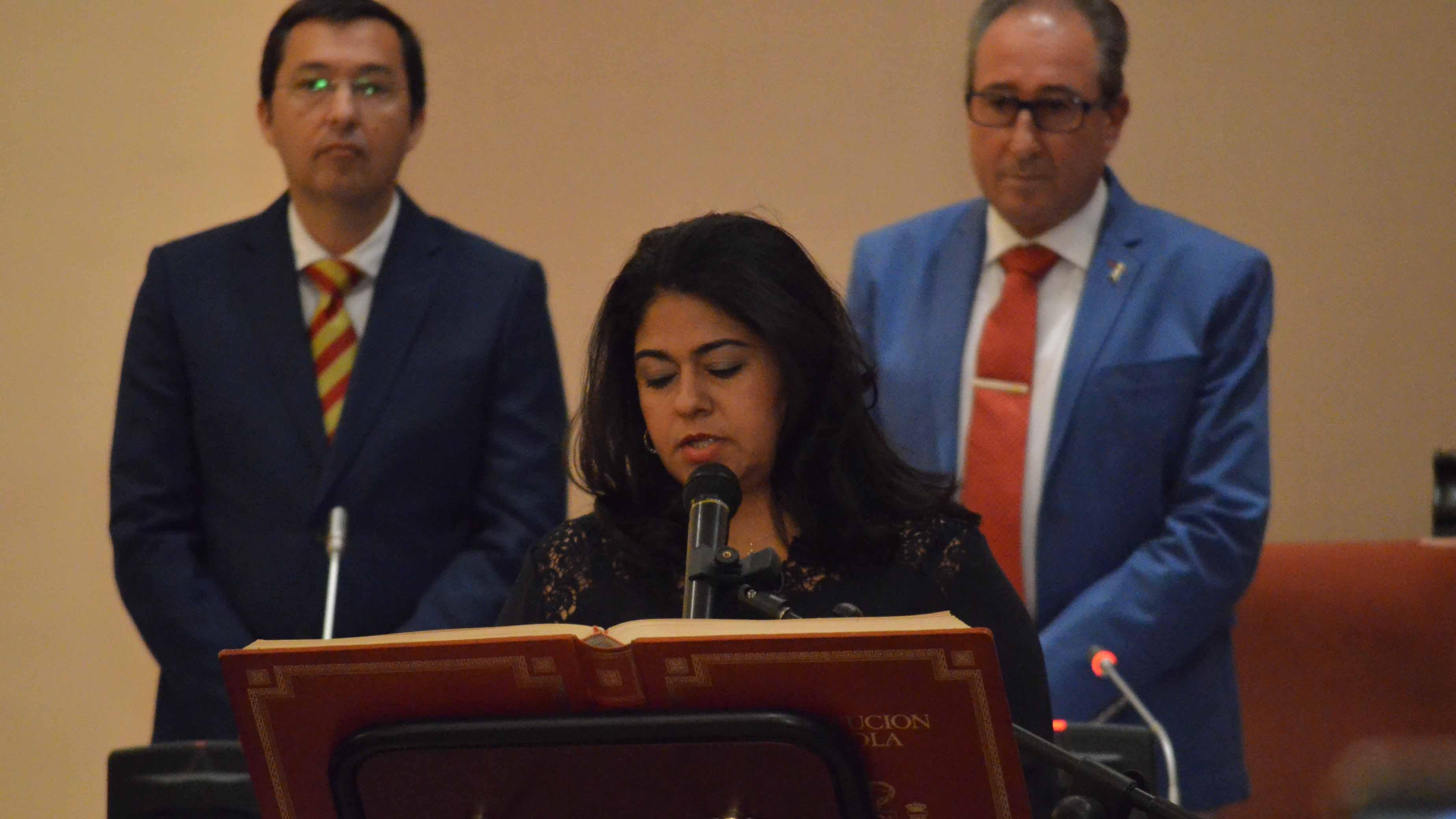 María del Carmen Suárez es la delegada de Recursos Humanos y Empleo en Utrera