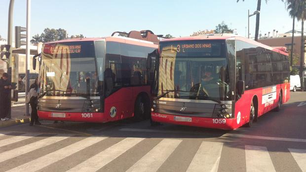 Autobuses urbanos de Dos Hermanas